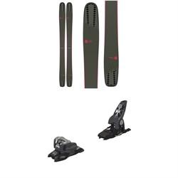 Rossignol Soul 7 HD W Skis - Women's  + Marker Griffon 13 ID Ski Bindings