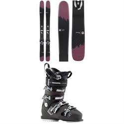 Rossignol Sky 7 HD W Skis ​+ Konect NX 12 GW Ski Bindings ​+ Pure Heat Ski Boots - Women's
