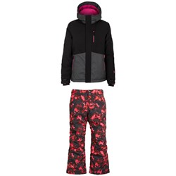 O'Neill Coral Jacket ​+ Charm AOP Pants - Girls'