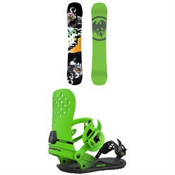 Never Summer Proto Slinger X Snowboard ​+ Union Strata Snowboard Bindings 2021