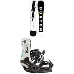 Burton Custom Snowboard + Genesis EST Snowboard Bindings 2021