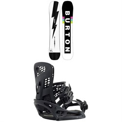 Burton Custom Flying V Snowboard ​+ Genesis EST Snowboard Bindings 2021