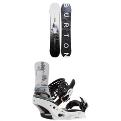 Burton Feelgood Flying V Snowboard ​+ Lexa X EST Snowboard Bindings - Women's 2021