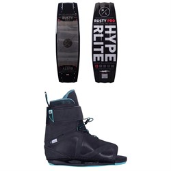 Hyperlite Rusty Pro + Session Wakeboard Package 2021