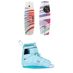 Hyperlite Eden 2.0 ​+ Viva Wakeboard Package - Women's 2021