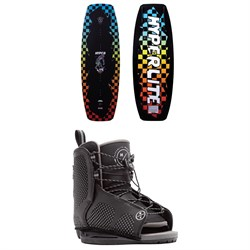 Hyperlite Murray Jr. ​+ Remix Jr. Wakeboard Package - Boys' 2021