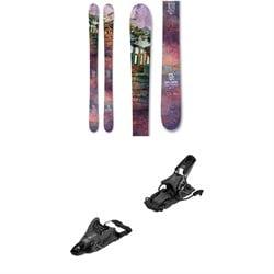 Icelantic Maiden 101 Skis - Women's + Salomon S/Lab Shift MNC 13 Alpine Touring Ski Bindings 2021