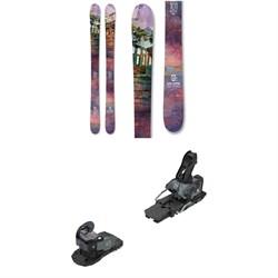 Icelantic Maiden 101 Skis - Women's + Salomon Warden MNC 13 Ski Bindings 2021