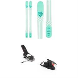 Black Crows Atris Birdie Skis - Women's  + Look Pivot 12 GW Ski Bindings 2022
