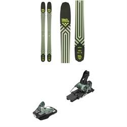 Black Crows Anima Skis + Salomon STH2 WTR 16 Ski Bindings 2021