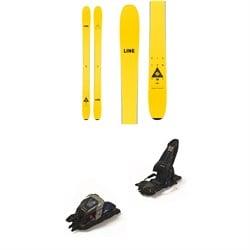 Line Skis Vision 108 Skis + Marker Duke PT 16 Alpine Touring Ski Bindings 2021