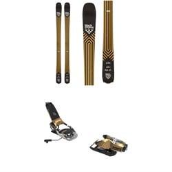 Black Crows Justis Skis + Look Pivot 15 GW Ski Bindings 2022