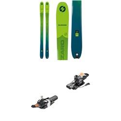 Blizzard Zero G 95 Skis + Fritschi Tecton 12 Alpine Touring Ski Bindings 2021