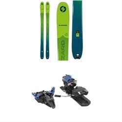 Blizzard Zero G 95 Skis + Dynafit ST Radical Alpine Touring Ski Bindings