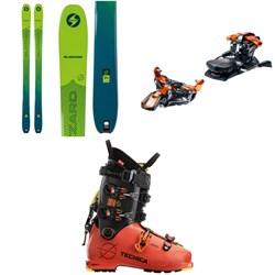 Blizzard Zero G 95 Skis + G3 Ion 12 Alpine Touring Ski Bindings + Tecnica Zero G Tour Pro Alpine Touring Ski Boots 2021