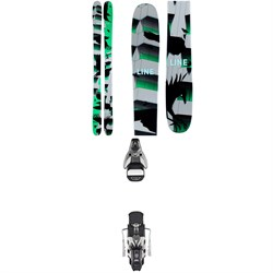 Line Skis Chronic Skis ​+ Atomic STH2 WTR 16 Ski Bindings 2021