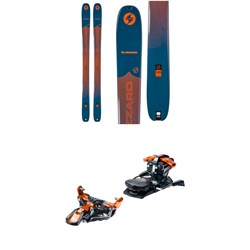 Blizzard Zero G 105 Skis ​+ G3 Ion 12 Alpine Touring Ski Bindings 2021