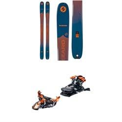 Blizzard Zero G 105 Skis + G3 Ion 12 Alpine Touring Ski Bindings 2021
