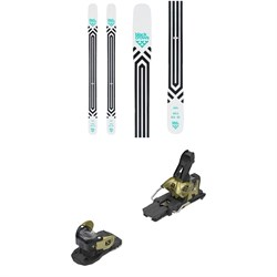Black Crows Atris Skis ​+ Salomon Warden MNC 13 Ski Bindings 2021