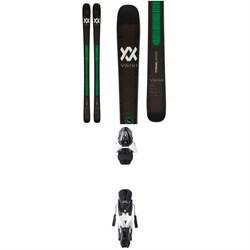 Volkl Kanjo Skis + Atomic Z12 Ski Bindings