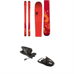 Faction Chapter 1.0 Skis ​+ Look NX 11 Ski Bindings
