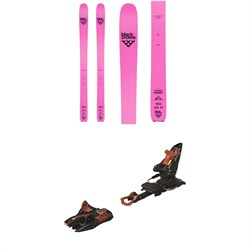 Black Crows Corvus Freebird Skis ​+ Marker Kingpin 13 Alpine Touring Ski Bindings