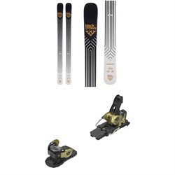 Black Crows Daemon Skis ​+ Salomon Warden MNC 13 Ski Bindings