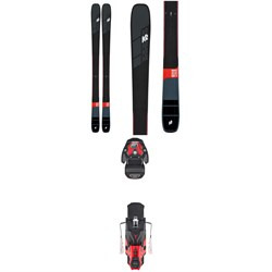 K2 Mindbender 99Ti Skis + Atomic Warden MNC 13 Ski Bindings