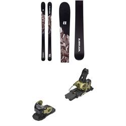 Armada Invictus 95 Skis + Salomon Warden MNC 13 Ski Bindings