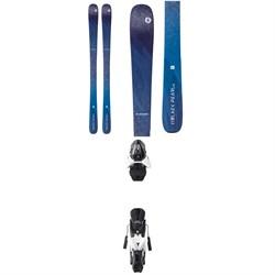 Blizzard Black Pearl 88 Skis - Women's + Atomic Z12 Ski Bindings