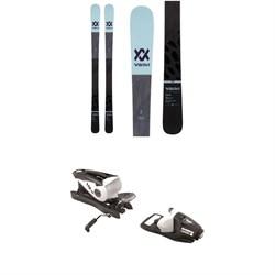 Volkl Kama Skis - Women's + Look NX 10 Ski Bindings