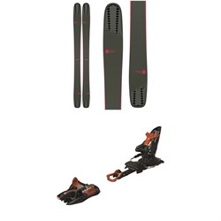 Rossignol Soul 7 HD W Skis - Women's ​+ Marker Kingpin 10 Alpine Touring Ski Bindings