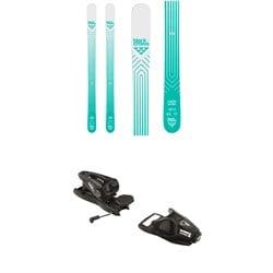 Black Crows Captis Birdie Skis - Women's + Look NX 11 Ski Bindings