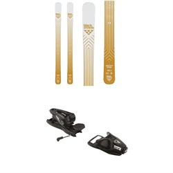 Black Crows Daemon Birdie Skis - Women's ​+ Look NX 11 Ski Bindings