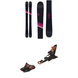 Faction Candide 3.0X Skis - Women's ​+ Marker Kingpin 10 Alpine Touring Ski Bindings