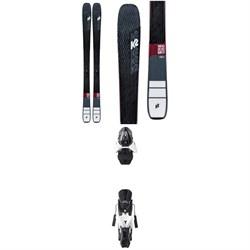 K2 Mindbender 88Ti Alliance Skis - Women's + Atomic Z12 Ski Bindings