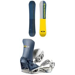Salomon FS2000 Snowboard + FS2000 Snowboard Bindings