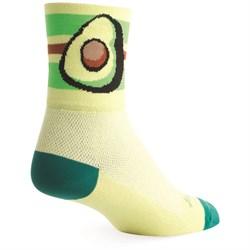 SockGuy Avocado Bike Socks