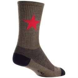 SockGuy Red Star 6