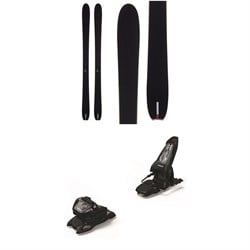 Season Aero Skis ​+ Marker Griffon 13 ID Ski Bindings 2021