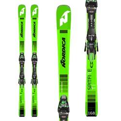 Nordica Dobermann Spitfire Ti Skis ​+ TPX 12 FDT Bindings