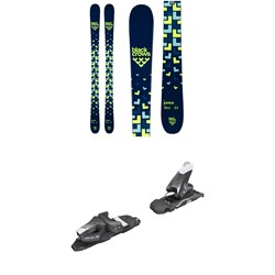 Black Crows Junius Skis - Big Boys'  ​+ Tyrolia SLR 7.5 AC Ski Bindings