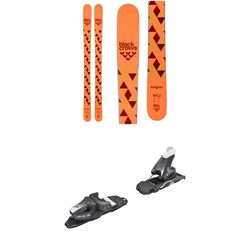 Black Crows Magnis Skis - Big Boys'  ​+ Tyrolia SLR 7.5 AC Ski Bindings