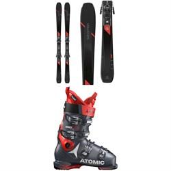 Salomon XDR 80 Ti Skis + Z12 GW Bindings + Atomic Hawx Ultra 110 S Ski Boots
