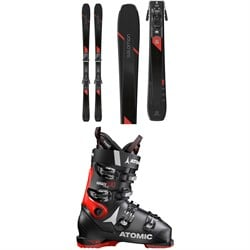Salomon XDR 80 Ti Skis ​+ Z12 GW Bindings ​+ Atomic Hawx Prime 100 Ski Boots