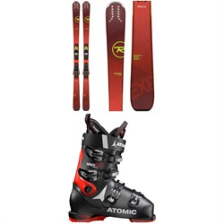 Rossignol Experience 80 Ci Skis + Xpress 11 Bindings + Atomic Hawx Prime 100 Ski Boots