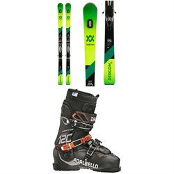 Volkl Deacon 76 Skis ​+ rMotion2 12 GW Bindings ​+ Dalbello Krypton AX 120 ID Ski Boots