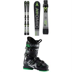 Atomic Redster X7 WB Skis ​+ FT 12 GW Bindings ​+ Lange LX 100 Ski Boots