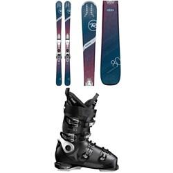 Rossignol Experience 80 Ci W Skis + Xpress 11 Bindings + Atomic Hawx Ultra 85 W Ski Boots - Women's