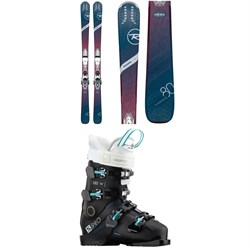 Rossignol Experience 80 Ci W Skis + Xpress 11 Bindings + Salomon S/Pro X80 CS W Ski Boots - Women's
